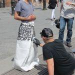 2 - les jupes Hiatus graffées